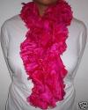 Silk Pink Boas